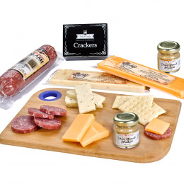 Custom Charcuterie Board Favorites Meat and Cheese Gift Set