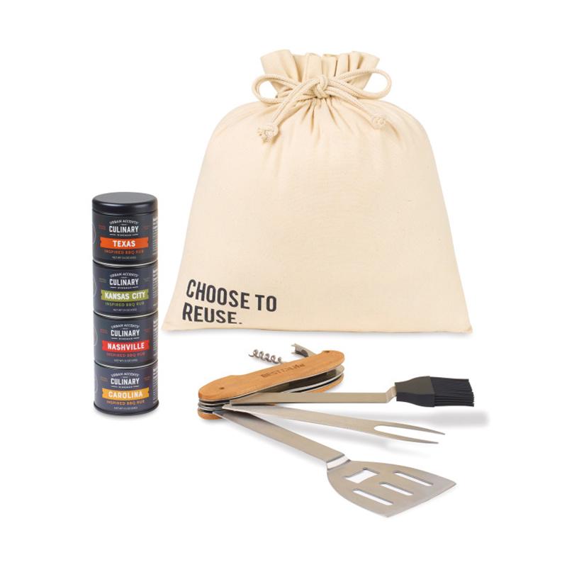 Roadtrip BBQ Custom Gift Set
