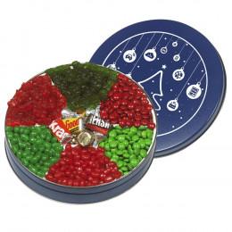 Delicious Holiday Wishes Custom Candy Treats Tin