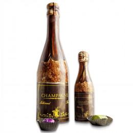 Ghyslain's Chocolate Champagne Bottle Gift Box
