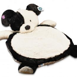 Bestever Black & White Puppy Baby Mat