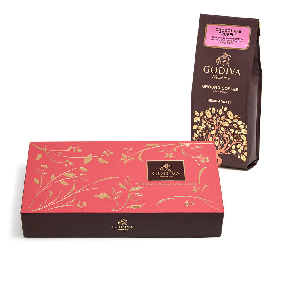 Godiva Chocolate Delights Breakfast Gift Set