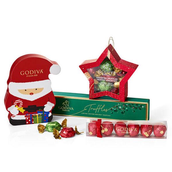 Godiva Holiday Stocking Stuffer Gift Set