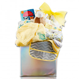 Baby's First Wardrobe Gift Basket