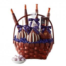 Classic Caramel Apple Gift Basket