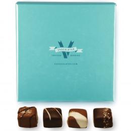 V Chocolate Amazing Caramels With Kosher Sea Salt Gift box