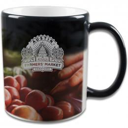 Custom 11oz Mystique® Full Color Stoneware Mug