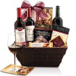 Cabernet Triple Crown Gift Basket