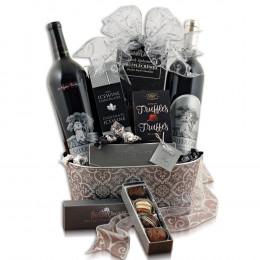 Silver Oak Duo Wine Gift Basket