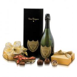 Dom Pérignon & Truffles Gift Basket