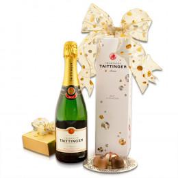 Taittinger & Truffles Champagne Gift Basket