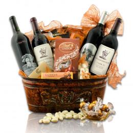 Stag's Leap And Silver Oak Cabernet Quartet Wine Gift Basket