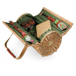 Custom Verona Barrel Basket Cheese Service Set