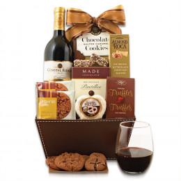 Cabernet & Chocolate Gift Basket
