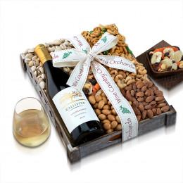 Callister Cellars Chardonnay & Mixed Nuts