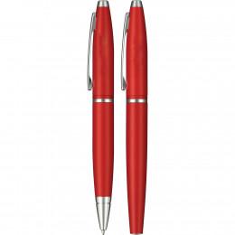Cross Calais Matte Metallic Crimson Pen Set