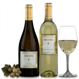 Houdini Napa Valley Sauvignon Blanc and Chardonnay