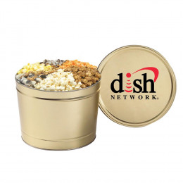 6-Flavored Gourmet Popcorn Tin – 2 Gallon