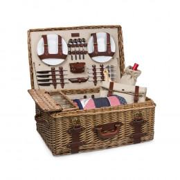 Custom Charleston Luxury Picnic Basket Set