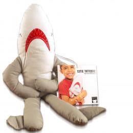 Cutie Tattootie Plush Baby Shark