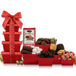 Deluxe Chocolate & Sweets Gift Tower
