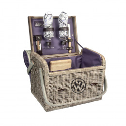 Custom Kabrio Luxury Wine Basket Set