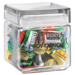 Corporate Candy Jar with Lid - Square
