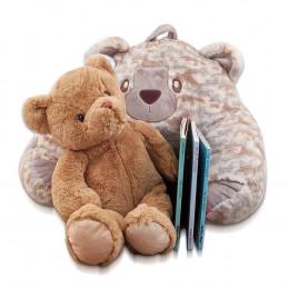 Storytime Brown Bear Lounger, Stuffed Animal & Board Book Trio Gift Set
