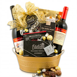 Shiloh Red Wine Duo Gift Basket
