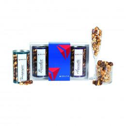 Boozy Popcorn Gift Tube Trio - Small