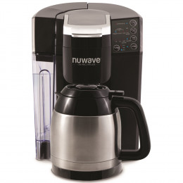 Nuwave BruHub 3 in 1 Coffeemaker w/ Stainless Carafe Decoration