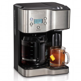 Deluxe Coffeemaker And Hot Water Dispenser