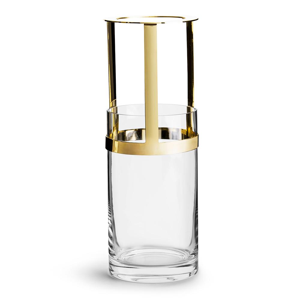 Hold Adjustable Medium Vase - Gold