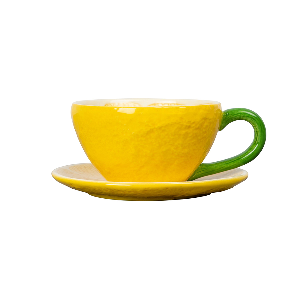 Lemon Cup and Plate