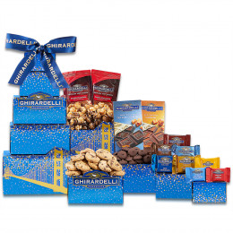 Deluxe Ghirardelli Chocolate Tower