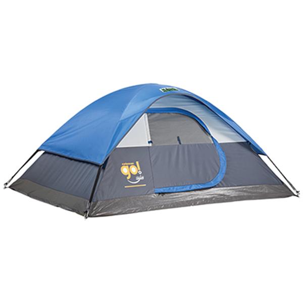 Custom Coleman Go! 2-Person Dome Tent, 5′ x 7′