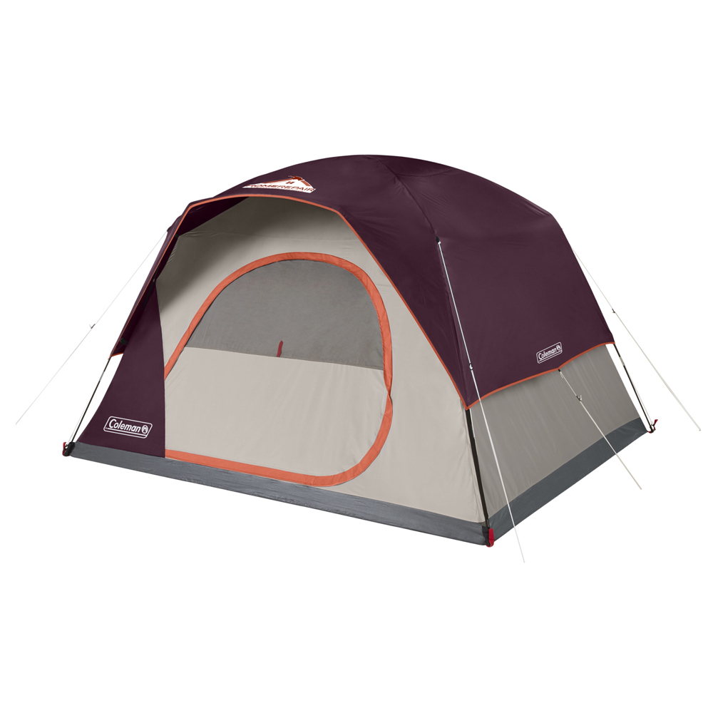 Custom Coleman 6-Person Skydome™ Camping Tent