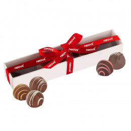 Decadent Chocolate Truffle Gift Box - 5 pc