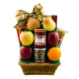 Tel Aviv Fruit & Kosher Food Gift Basket