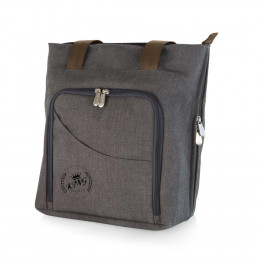 Custom Sonoma Expandable Wine and Cheese Tote