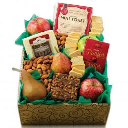 Fruit & Cheese Snacker's Gift Box