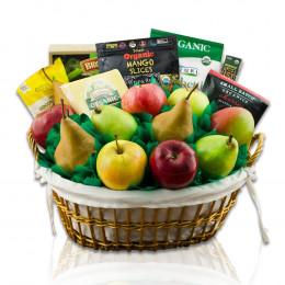 Good Choice Organic Fruit & Snax Gift Box