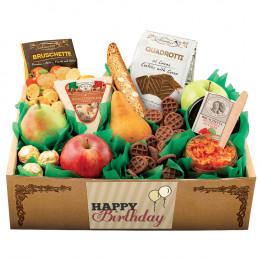 Italian Pride Of The Farm Fruit Gift Box - Birthday