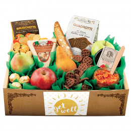 Italian Pride Of The Farm Fruit Gift Box - Get Well
