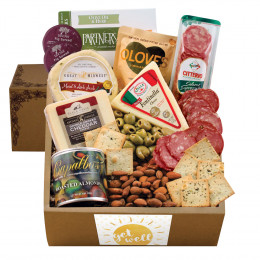 Cheese & Crackers Classic Collection Gift Box - Get Well