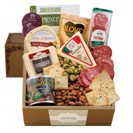 Cheese & Crackers Classic Collection Gift Box - Sympathy