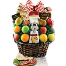 Italian Treasures Fruit Gift Basket