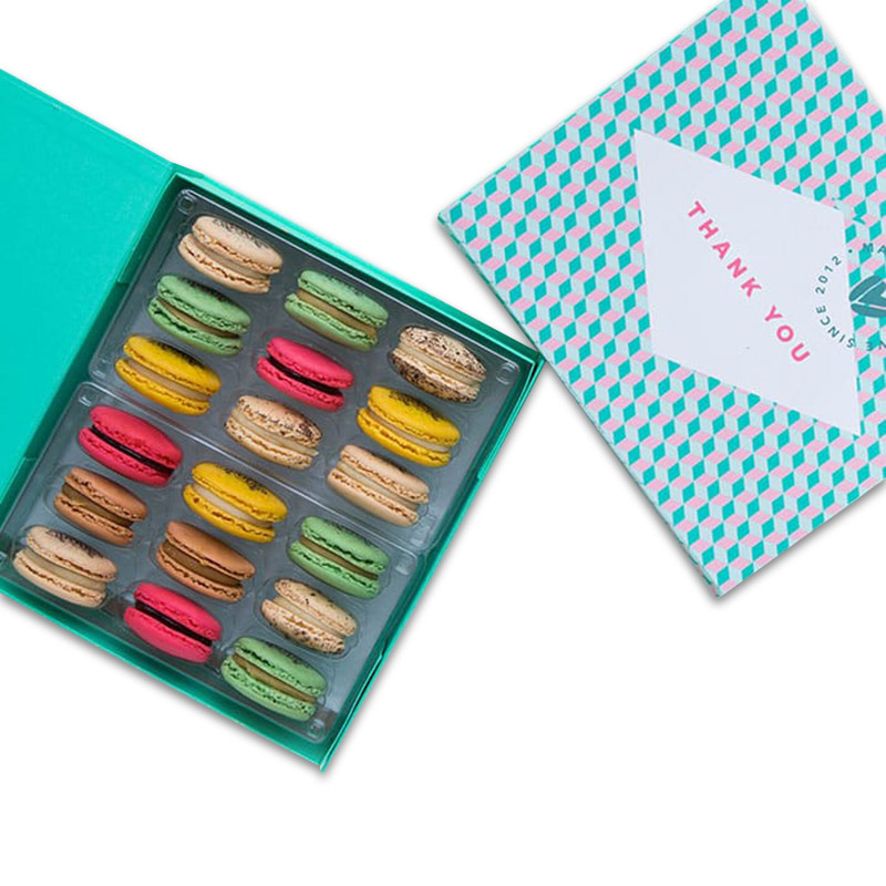 Woops Thankful For You Macaron Gift Box - 18 pc
