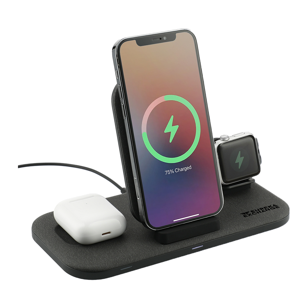 mophie® 3-in-1 Custom Wireless Charging Stand