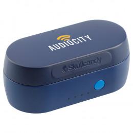 Custom Skullcandy Truly Wireless Bluetooth Earbuds w/Charging Case